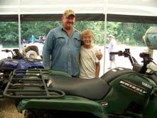 2011 ATV raffle winner